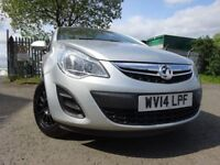 014 VAUXHALL CORSA 1.2,5 DOOR, MOT MARCH 019,FULL SERVICE HISTORY,2 OWNERS,VERY LOW MILEAGE CAR