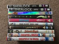 Mixture of DVD's (10)