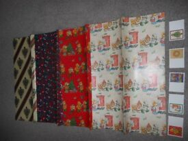 Pack of Fabulous Family Assortment of Xmas paper