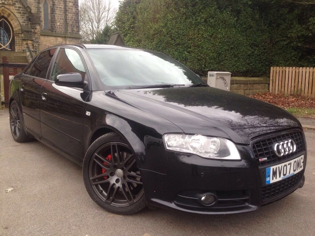rare 4x4 2007 audi a4 2 0 tdi s line special edition 170 bhp quattro 4x4 top of the range in. Black Bedroom Furniture Sets. Home Design Ideas