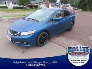 2015 Honda Civic Touring! Navigation! Heated! Leather! Sunroof!