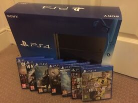 New PS4 & 7 Games (3 New)