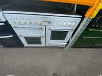 White range master 110cm gas cooker grill & double ovens good condition with guarantee
