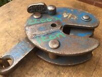 Plate lifting clamp 1 Ton Heavy duty camlok