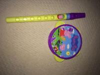 Peppa pig musical instrument as seen