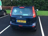 NISSAN NOTE car (price reduced