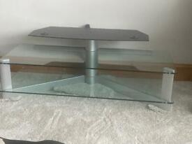 Two tier Glass tv stand **excellent condition**