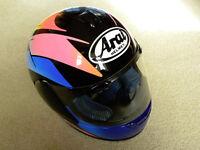 Ladies Arai Quantum Crash Helmet - Size XS -