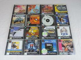 16 PlayStation 1 - PS1 - PS One games bundle - joblot.