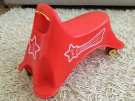 For sale: Small ELC red ride on toy