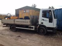 7.5 ton iveco spares or repairs