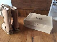 Ugg Boots Chestnut Size 5.5 uk Classic tall