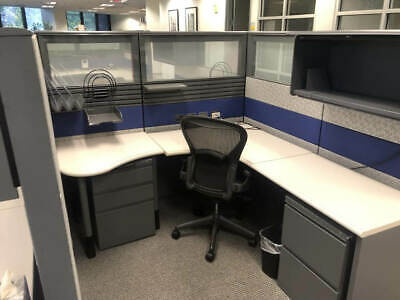 Used Office Cubicles Herman Miller Ethospace 6x6.5 Cubicles
