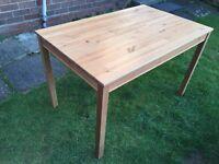 IKEA JOKKMOKK solid wood table