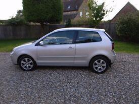 VW Polo Match 60 - 1.2 Litre, 3 door, Petrol, Manual 55000 miles