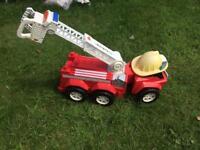Matchbox Fire Engine Toy