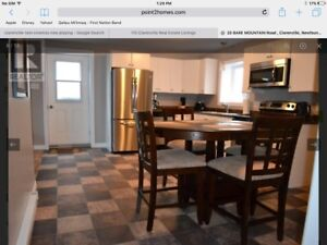 2 bedroom above ground basement apartment