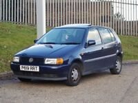 Volkswagen Polo 1.4 CL (1997/P Reg) 5 Door Blue