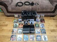 PS3 60GB with 3 controllers and 23 games