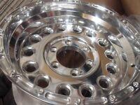 toyota hilux l200 ranger 4x4 deep dish alloy wheels new