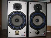 B & W DM110i speakers