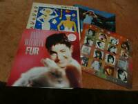 4 Vinyl LPs Motels Bangles Jane Wiedlin - Hard to find - offers