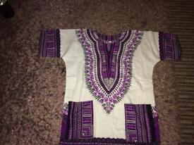 Unisex African tunic top