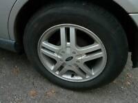 Ford focus alloys x4 good tyres