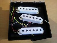 Fender Stratocaster Tex Mex Pickups Set Road Worn Roadworn. Electric Guitar Pick Ups Pick Up 50s 60s