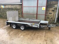 Ifor Williams GX106 plant trailer
