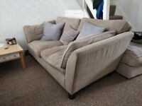 Laura Ashley sofa settee couch 2 seater x2