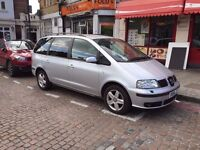 Lovely 2004 Seat Alhambra 1.9 Diesel Automatic 7 Seater, 96k Miles Only,Auto, Ford Galaxy, VW Sharan