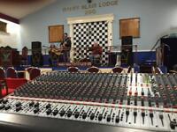 Behringer 32 channel mixing desk