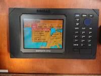 Simrad shipmate CP30 chartplotter with 4 C-MAP NT+ charts