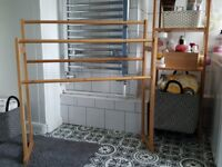 Bamboo Towel Rail