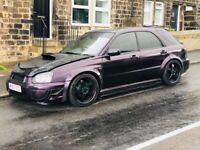 Subaru Impreza WRX SL wagon long mot, px or swaps welcome.