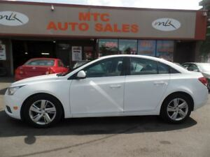 2014 Chevrolet Cruze Diesel, LEATHER, BACKUP CAM