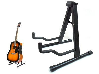 LIVIVO FOLDING FOLDABLE A-FRAME MUSIC GUITAR FLOOR STAND ELECTRIC ACOUSTIC BASS