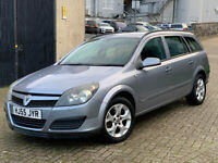 2005 VAUXHALL ASTRA 1.8 CLUB ESTATE AUTOMATIC, SERVICE HISTORY, 11 MONTHS MOT, GREAT RUNNER