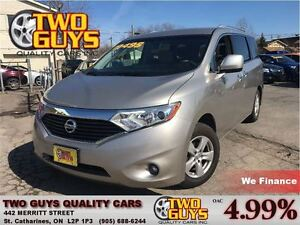 2011 Nissan Quest 3.5 SV PWR SLIDERS HTD SEATS