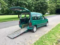 Peugeot Partner 2 L diesel HDI wheelchair access car 76,000 miles 54 Reg
