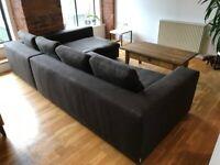 Habitat L shape sofa bed