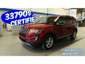 2017 Ford Explorer XLT, ENSEMBLE REMORQUAGE, 7 PASSAGERS