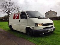 Lowered VW Transporter T4 Project
