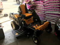 """Cub Cadet XZ3 Zero Turn Mower with 48"""" Mulching Deck. New this year. Less than 100 hours"""