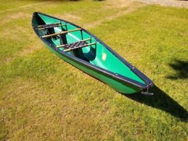 Canadian Two Man Canoe. is ideal for couples or family expeditions. l: 390cm W: 88cm