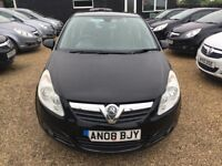 VAUXHALL CORSA 1.2 i 16v DESIGN HATCH 5DR 2008* IDEAL FIRST CAR*CHEAP INSURANCE* EXCELLENT CONDITION