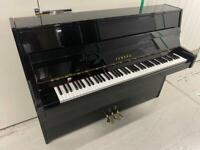 Yamaha c110 Black High Gloss upright piano - Warranty - Delivery