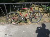 "18 Speed RALEIGH Mountain Bike For Sale. Fully Serviced & Ready To Ride. Guaranteed. 18"" Frame"