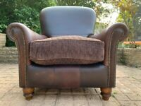 Stunning Tetrad Degas Vintage Leather Armchair- Great Condition – RRP £1,092